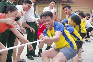 BĐBP Nghệ An: Thi đấu thể thao chào mừng kỷ niệm 60 năm Ngày Truyền thống BĐBP