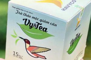 Phát hiện có chất cấm, trà thảo mộc Vy&Tea bị buộc thu hồi