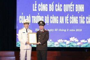 Trưởng ban Nội chính tỉnh ủy làm giám đốc Công an tỉnh Hà Tĩnh