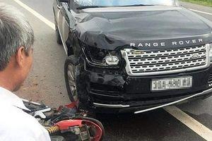 Va chạm xe Range Rover, 2 vợ chồng đi xe máy thương vong