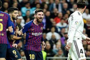 Ramos nói gì về tình huống 'vung tay' vào mặt Messi ở Siêu kinh điển?