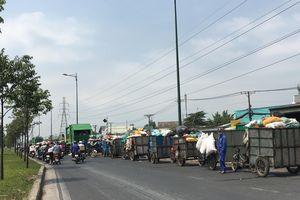 Bãi rác gây ô nhiễm khu dân cư