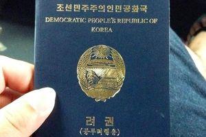 Bên trong cuốn hộ chiếu ít người thấy của Triều Tiên
