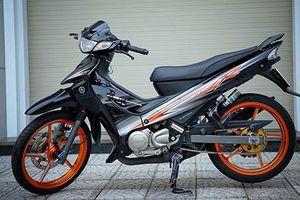 Cận cảnh xe máy Yamaha 125ZR hơn 300 triệu ở Sài Gòn
