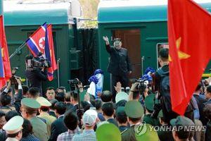 Tàu bọc thép của Chủ tịch Kim Jong-un không dừng lại ở Bắc Kinh