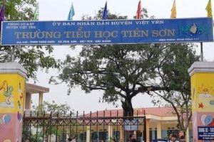 Bắc Giang : Tạm đình chỉ giáo viên liên quan đến nghi án dâm ô nhiều học sinh