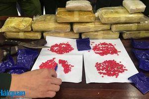 Hải quan Hà Tĩnh phối hợp bắt đối tượng đang vận chuyển 60.000 viên ma túy tổng hợp