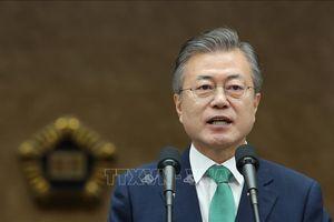 Tổng thống Hàn Quốc hy vọng nhanh chóng khai thông 'bế tắc' trong đàm phán Mỹ-Triều