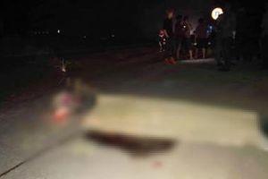 Hà Tĩnh: Xe bồn đâm sau đuôi xe máy kéo, người đàn ông tử vong tại chỗ