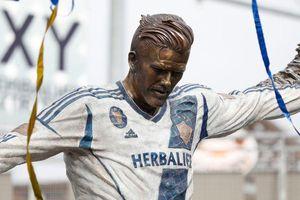 Beckham được dựng tượng tại Los Angeles