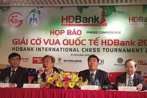 Giải Cờ Vua Quốc tế HDBank 2019 thu hút hơn 300 kỳ thủ tham dự