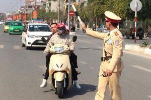Hà Nội: Xử lý nghiêm các vi phạm giao thông
