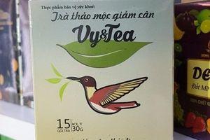 Cảnh giác với trà giảm cân chứa chất cấm