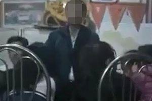 Thầy giáo bị tố vỗ mông nhiều nữ sinh: Hoang mang