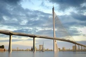 Cầu Cần Giờ thiết kế theo hình cây đước