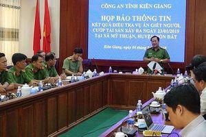 Công an tỉnh Kiên Giang họp báo vụ trọng án tại huyện Hòn Đất