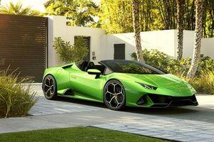 Lamborghini Huracan Evo có phiên bản mui trần, đóng mở mui siêu tốc