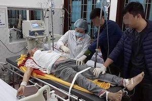 Thầy cúng truy sát hàng xóm ở Nam Định đang điều trị tích cực ở BV Việt Đức