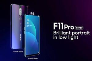 OPPO F11 Pro ra mắt: Camera 48MP chụp thiếu sáng ấn tượng, camera selfie 'thò thụt'