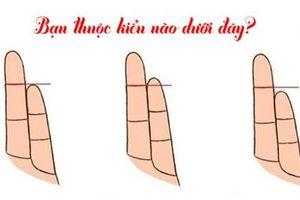 Chiều dài ngón tay út nói lên điều gì về tính cách và sở thích của bạn?