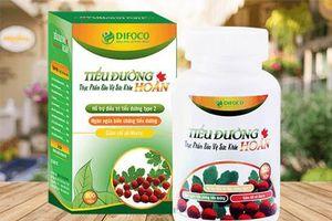 Yêu cầu ngừng sản xuất và thu hồi thực phẩm tiểu đường hoàn