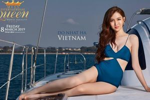 Diện bikini, Nhật Hà 'chém đẹp' dàn thí sinh Hoa hậu Chuyển giới quốc tế