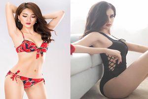 So kè độ nóng bỏng của dàn bạn gái tuyển Việt Nam khi diện bikini