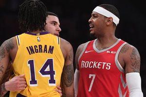 Carmelo Anthony và Lakers dừng đàm phán vì lý do không ngờ