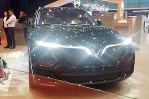 Xe VinFast Lux xuất hiện tại Triển lãm ô tô ở Thụy Sĩ