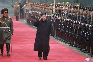 Chủ tịch Kim Jong-un về đến Bình Nhưỡng lúc 3h sáng