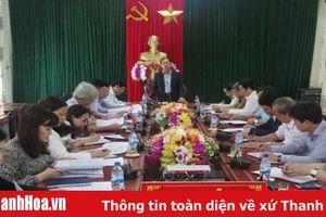 Ban Văn hóa - Xã hội HĐND tỉnh giám sát tại các huyện Yên Định và Thiệu Hóa