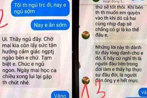 Thầy giáo bị tố gạ tình nữ sinh ở Thái Bình dừng công tác chủ nhiệm