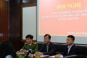 Chưa đủ căn cứ kết luận thầy giáo dâm ô hàng loạt bé gái tiểu học ở Bắc Giang