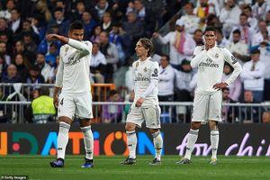 Real Madrid thua thảm, chấm dứt kỷ nguyên thống trị Champions League trong tủi hổ