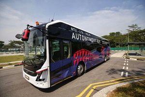 Xe bus điện không người lái định vị bằng hệ thống trí tuệ nhân tạo