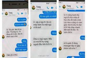 Thầy giáo thừa nhận có nhắn tin gạ tình nữ sinh