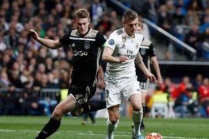 Đánh bại Read Madrid, Ajax Amsterdam tạo nên cơn địa chấn
