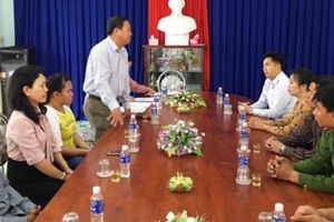 Cà Mau tiếp nhận một cô gái bị buôn bán tại Campuchia