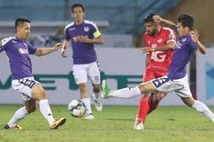 CLB Hà Nội giành chiến thắng trong trận derby Thủ đô
