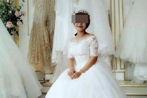 Sự thật ảnh cưới cô gái gào khóc tiễn bạn trai đi lính chỉ sau 1 tháng