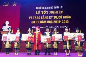 Trường ĐH Thủy lợi: Gần 1.700 sinh viên khóa 2014 - 2019 tốt nghiệp