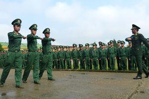 BĐBP các tỉnh khai giảng huấn luyện chiến sỹ mới năm 2019