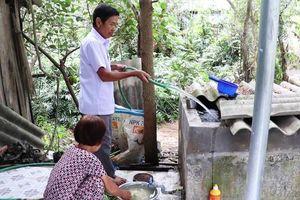 Gần 850 hộ dân phải sử dụng nước bẩn