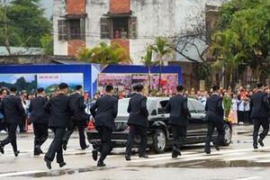 Bật mí dàn 'vệ sĩ chạy bộ' của lãnh đạo Triều Tiên