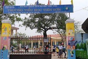 Họp báo vụ thầy giáo bị tố dâm ô nhiều học sinh ở Bắc Giang