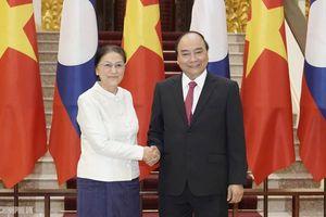 Quan hệ Việt – Lào đạt nhiều kết quả tích cực