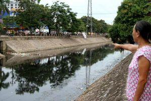 Hà Nội: Kiên quyết xử lý vi phạm về xả nước thải vào hệ thống công trình thủy lợi