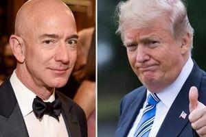 Ông chủ Amazon vẫn giàu nhất thế giới, Tổng thống Trump thăng hạng