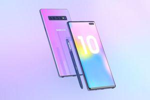 Bản dựng Galaxy Note 10 với 6 camera, màn hình Infinity-O
