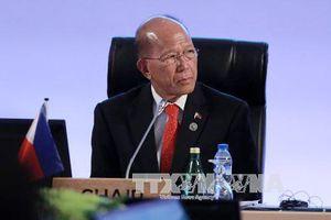 Bộ trưởng Quốc phòng Philippines lo ngại xung đột ở biển Đông